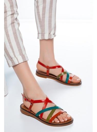 Mask Sandalet Renkli